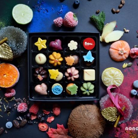 Nono Cocoa - Collection - Vegan Superfood Chocolate Box