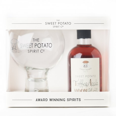 Sweet Potato Toffee Apple Moonshine 20cl & Spirit Globe
