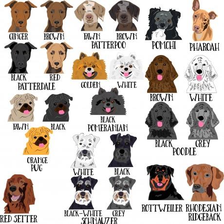 Personalised Dog Dad Mug (many breeds available)