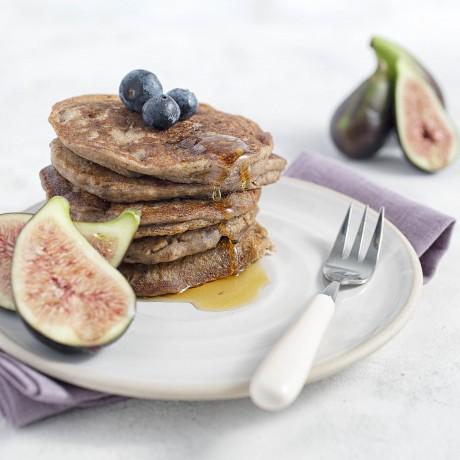 Fig & Orange Perfectly Puffed Pancakes
