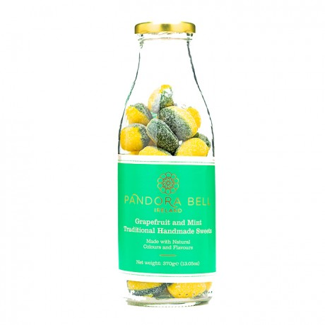 Grapefruit & Mint Natural Handmade Sweets - 3 bottles