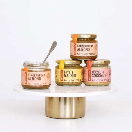 Luxurious Vegan Baking Mix Hamper (plus optional Gins)