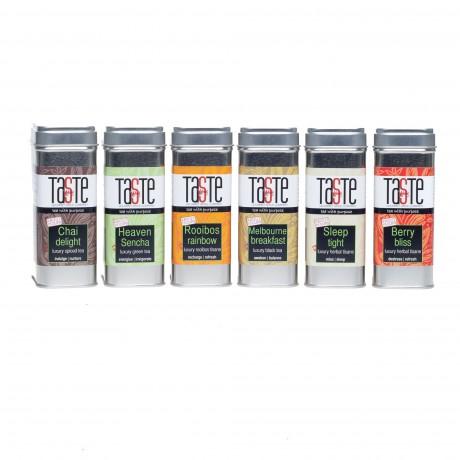 6 Luxury Tea & Tisanes Collection