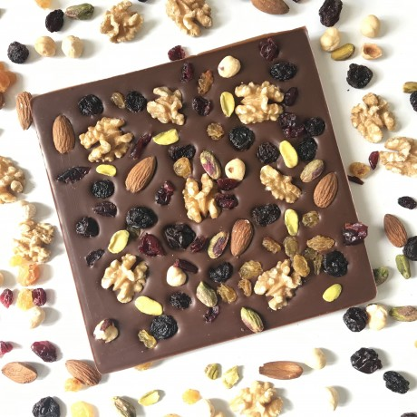 Dairy Free Giant Fruits & Nuts Slab Bar