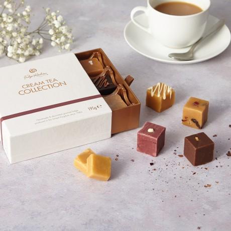 Cream Tea Fudge Selection