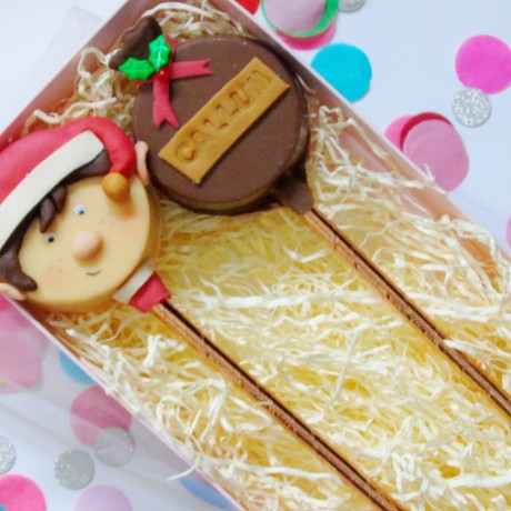 Personalised Elf Cakesicles