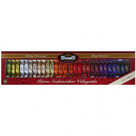 Hungarian Christmas Praline Selection Gift in 15 Flavours