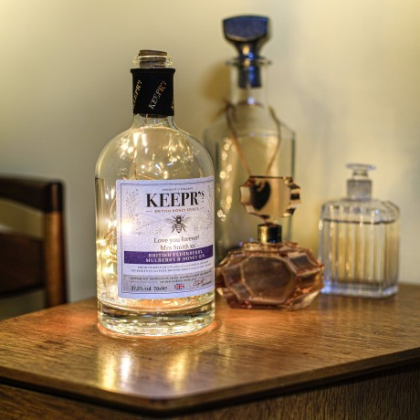 Keepr's British Elderberry, Mulberry and Honey Gin