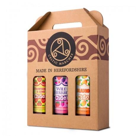 3 Cider Gift Packs (3 x 3 x 500ml )