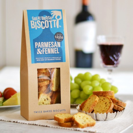 Great British Biscotti Co - Cheddar & Fennel Biscotti
