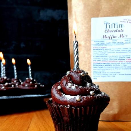 Chocolate Birthday Muffin Mix - Keto, Low Carb, Sugar Free
