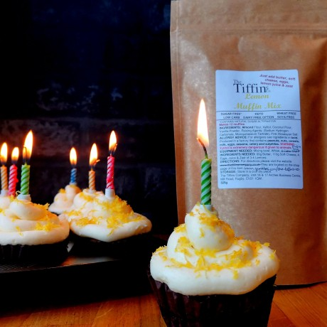 Lemon Birthday Muffin Mix - Keto, Low Carb, Sugar Free