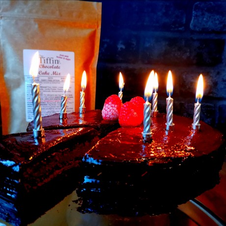 Chocolate Birthday Cake Mix - Keto, Low Carb, Sugar Free