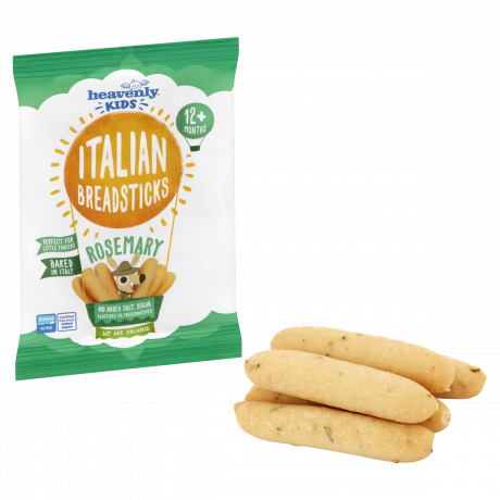 Heavenly Kids Italian Breadsticks with Rosemary (Pack of 7)
