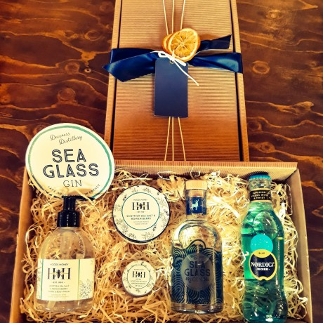 Sea Glass Gin Hamper 20CL & HH