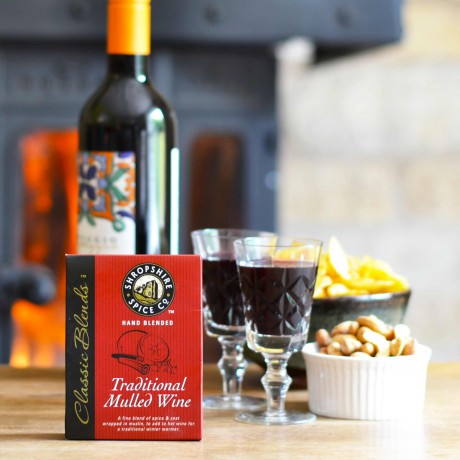 Shropshire Spice Co - Traditional Mulled Wine Spice