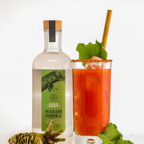 Wasabi Vodka bloody mary