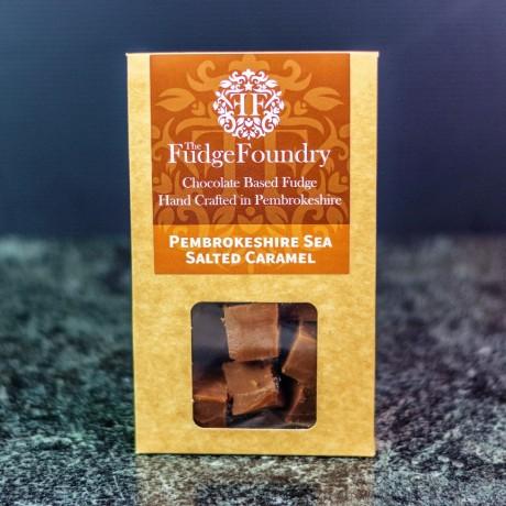 Pembrokeshire Sea Salted Caramel Fudge
