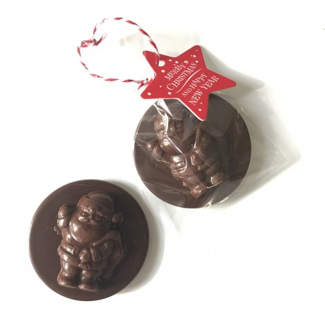 Dairy Free Chocolate Christmas Tree Decorations