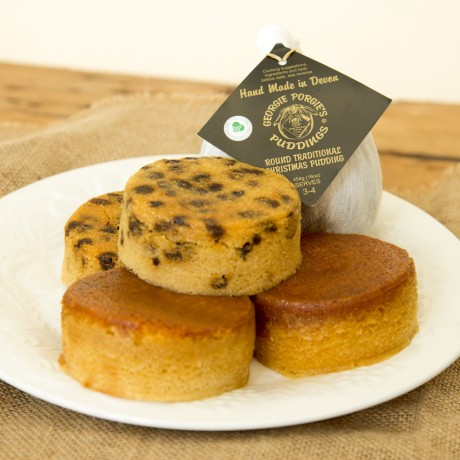 Traditional Christmas Pudding & Steamed Sponge Collection Box