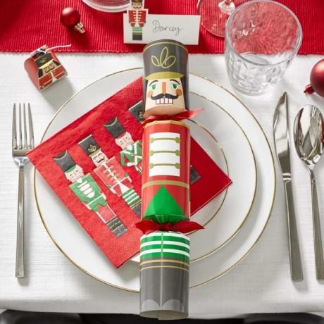 Nutcracker Bingo Christmas Crackers