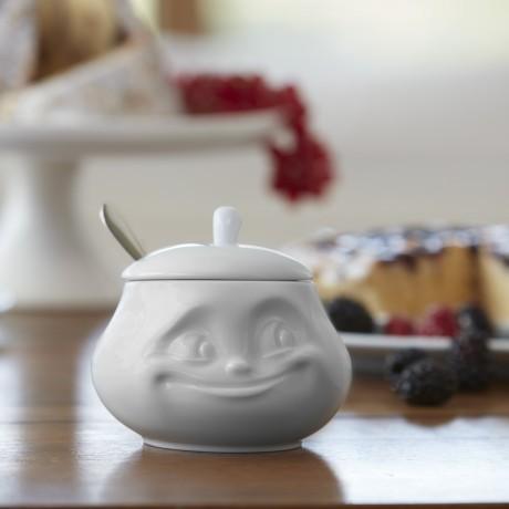 Sugar Bowl in hotel quality porcelain