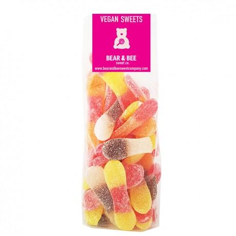 Vegan Fruit & cola flavour gummies 500g