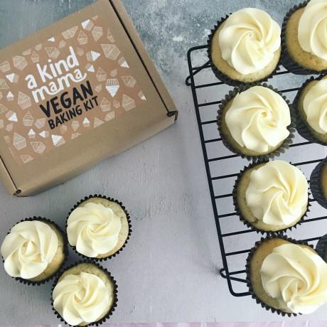 Vegan Baking Kit - Vanilla Cupcakes