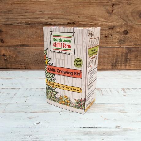 Chilli Lovers Selection Gift Set in Black Hamper Box
