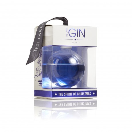 Lakes Gin Bauble - Large 20cl Christmas Gin Bauble