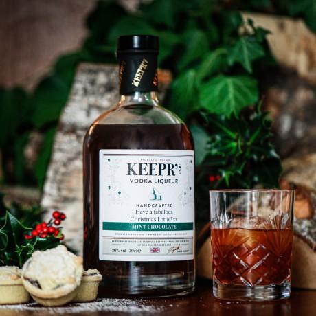 Keepr's Mint Chocolate Vodka Liqueur