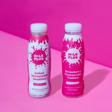 Bundle of Nutritious Flavoured Nut Mylk | Dairy Free Nut Milk (Pack of 4)