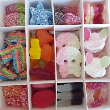 Personalised Vegetarian Sweet Box Gift