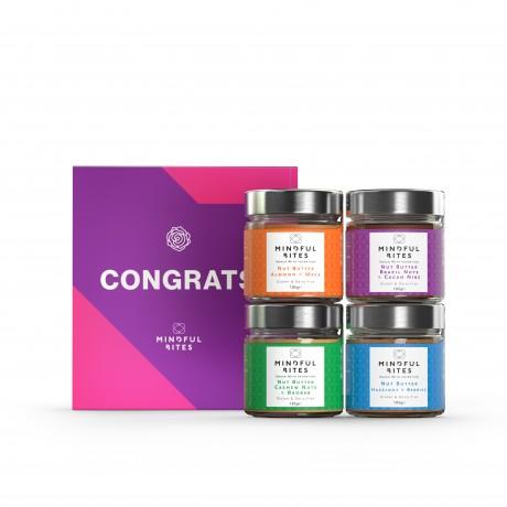 Nut Butter Gift Box 'Congrats'