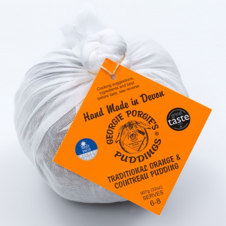 Vegan Orange & Cointreau Pudding (2 Pack)