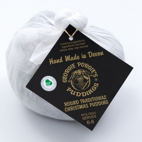 Traditionally Handmade & Award-Winning Christmas Pudding (2 Pack)