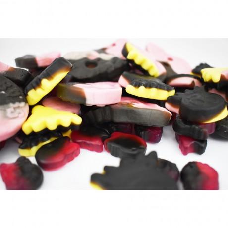 Gluten Free Vegan Liquorice Sweets 500g