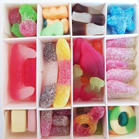Personalised Vegan Sweets Gift Box