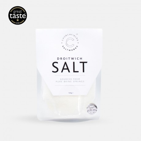 Pure Brine Spring Salt | Choose your Crystal Size (Pack of 2)