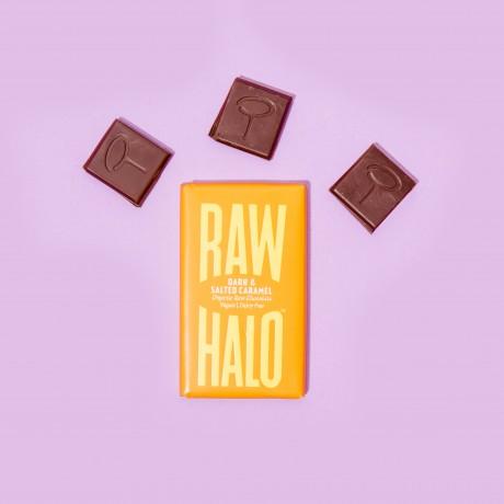 Dark & Salted Caramel (6 x 22g) Organic, Vegan, Raw Chocolate Bars