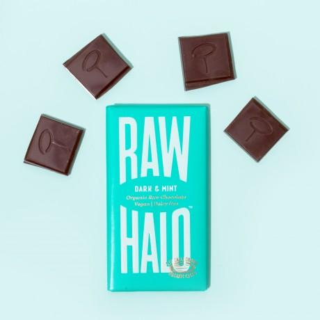 Dark & Mint (6 x 35g) Organic, Vegan, Raw Chocolate Bars