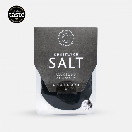 Pure Brine Salt Charcoal - Black Trumpet Mushroom & Garlic