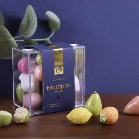 Handmade Vegan Sugar Coated Marzipan Fruits