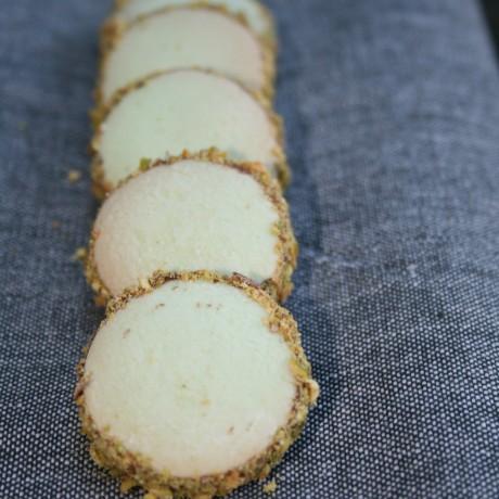 Gluten Free Hazelnut & Pistachios Alfajores