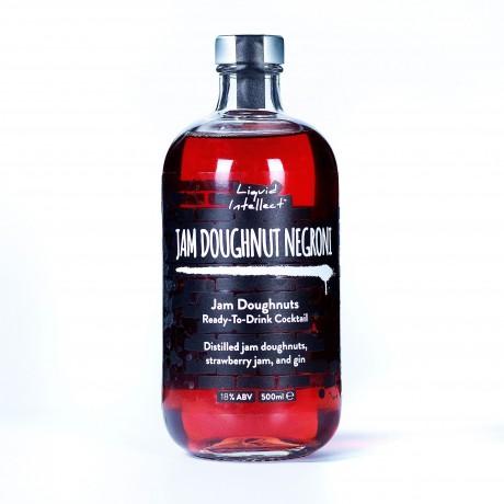 Distilled Strawberry Doughnut Cocktail