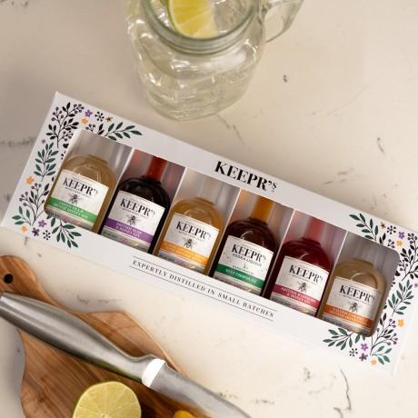 Keepr's honey infused spirits gift box