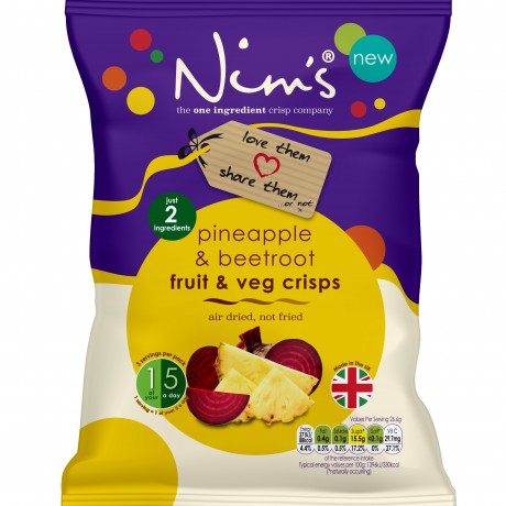 Nim's Pineapple & Beetroot Share Bags