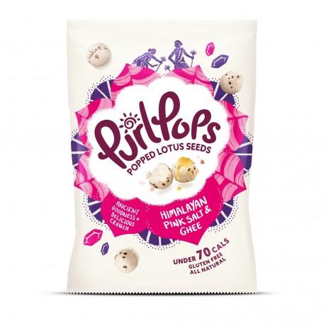 Roasted & Popped Lotus Seed Snacks - Classic Ghee & Pink Himalayan Salt (Multipack)