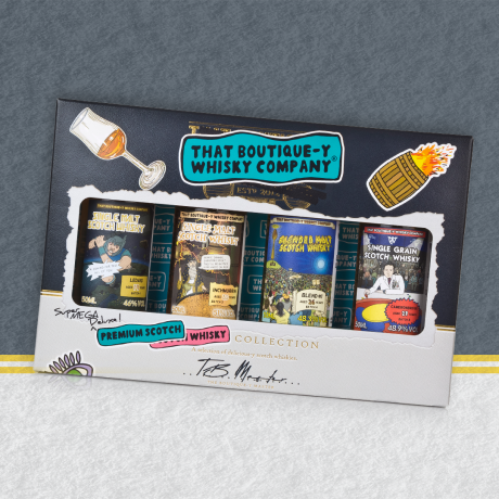 That Boutiquey Whisky Company Premium Scotch Gift Set