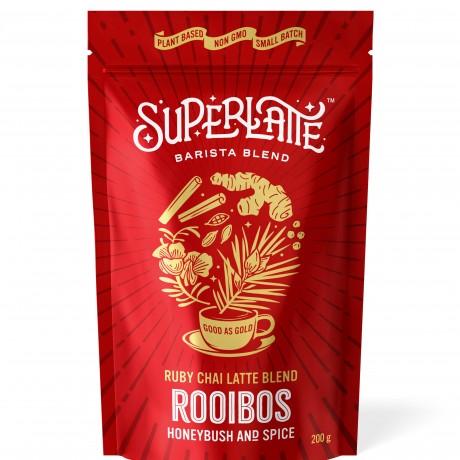 Ruby Chai Latte Blend - Rooibos, Honeybush & Spices 200g